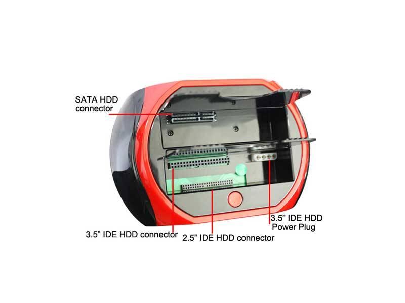 داکت هارد یو اس بی 3 HDD Docket 875D IDE&SATA