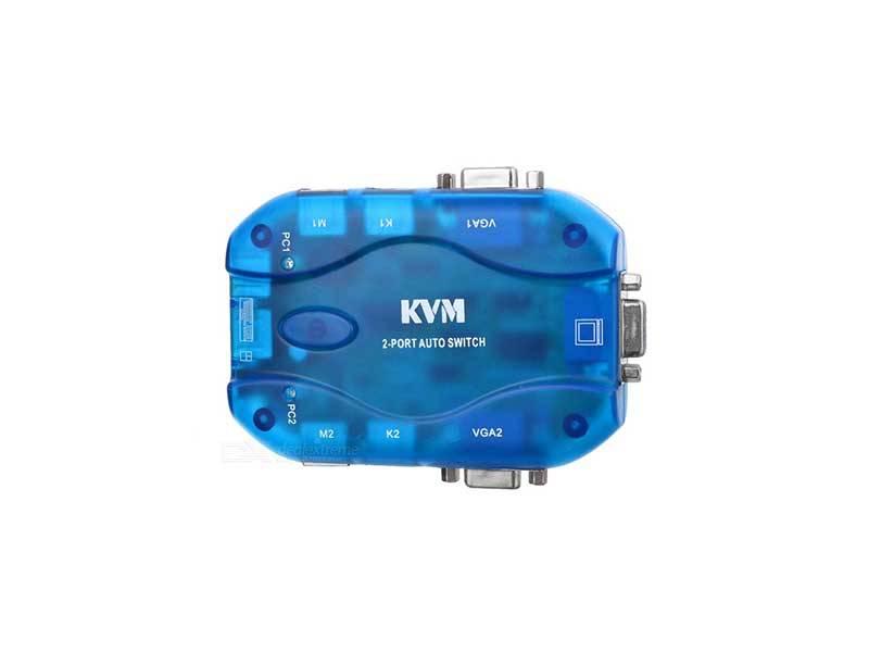 کی وی ام سوئیچ دو پورت - KVM switch automatic ps2