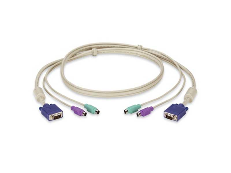 کابل 1.5 متری کی وی ام KVM cable 1.5m ps2