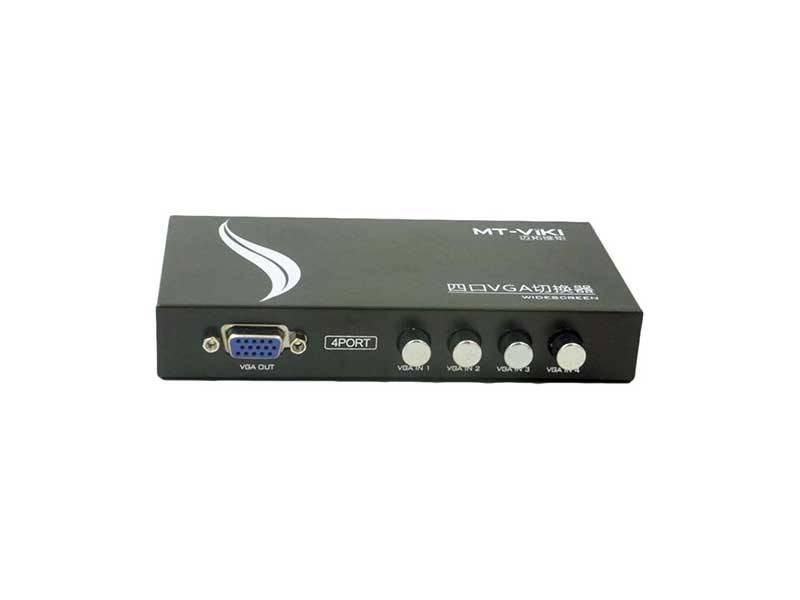 سوئیچ VGA دستی چهار پورت VGA switch 4 port