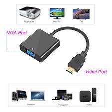 تبدیل HDMI به VGA بدون صدا HDMI to VGA