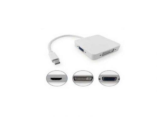 تبدل 3 کاره مینی دیسپلی پورت   مبدل 3 کاره مینی دیسپلی پورت   تبدیل مینی دیسپلی به dvi  تبدیل مینی دیسپلی به vga  