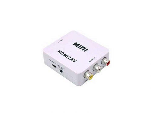 تبدیل hdmi به av مینی | تبدیل اچ دی ام ای به ای وی mini | مبدل HDMI به AV مینی | تبدیل hdmi به سه فیش |