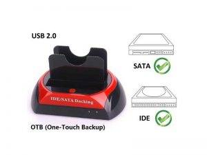 داکت هارد یو اس بی 3 HDD Docket 875D IDE&SATA