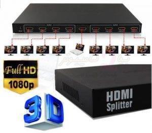 اسپلیتر اچ دی ام ای 8 پورت HDMI SPLITTER 8 port