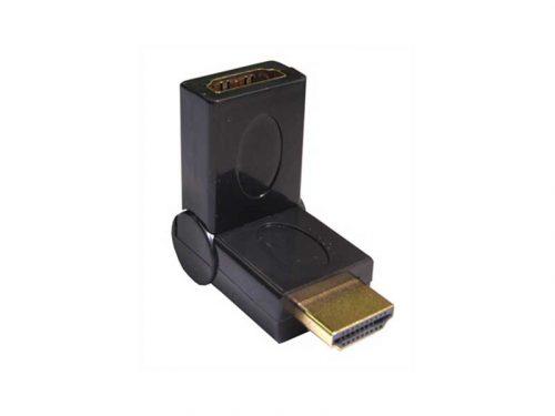 رابط HDMI نری به مادگی تاشو - HDMI m to f fold
