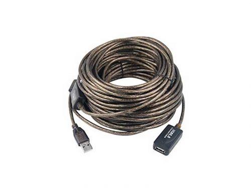 کابل افزایش طول usb ای سی دار | کابل افزایش طول یو اس بی ic دار | کابل افزایش طول usb ic | کابل افزایش طول usb 20 متری |