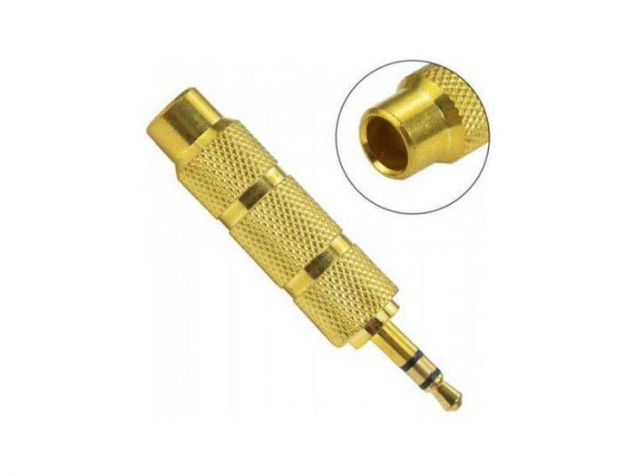 تبدیل استریو 6.5 میلیمتری به 3.5 یا stereo 6.5 to 3.5 یک مبدیل کاربردی جهت تبدیل فیش 6.5 میلیمتری TRRS به 3.5 میلیمتری جهت اتصال به سایر محصولات.