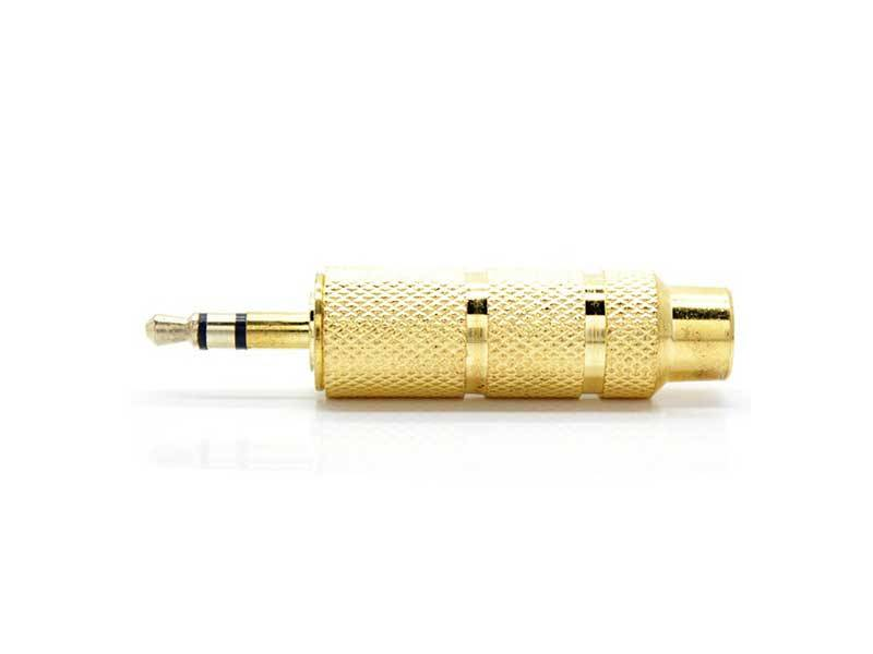 TRRS 6.5 to 3.5mm - تبدیل استریو 6.5 میلیمتری به 3.5 - stereo 6.5 to 3.5