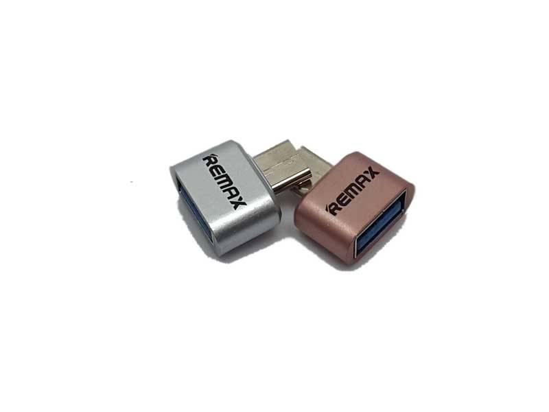 Type c OTG1 - تبدیل تایپ سی به USB ریمکس Type c OTG Remax