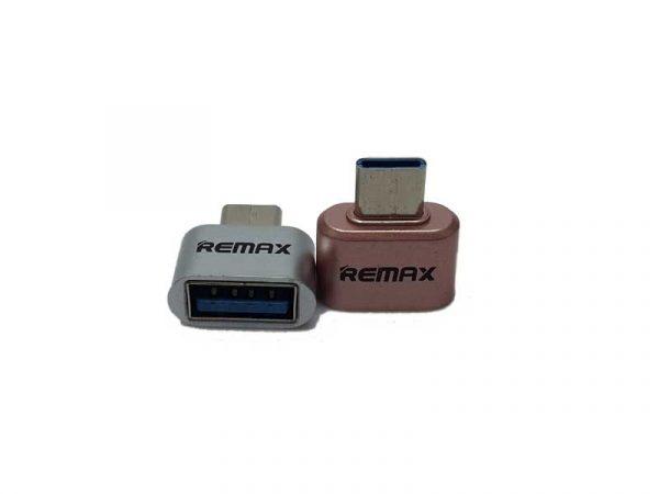 تبدیل تایپ سی به USB ریمکس Type c OTG Remax