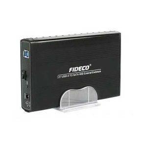 باکس هارد 3.5 اینچ USB 3.0 فیدکو sata HDD Box FIDECO