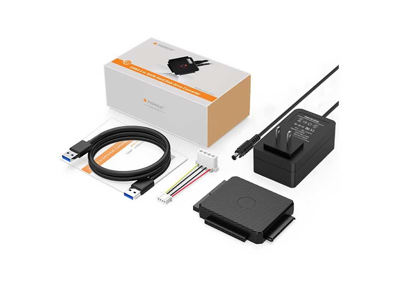 fideco adapter 3 - تبدیل ای دی ای و ساتا فیدکو - IDE/SATA Converter USB3.0
