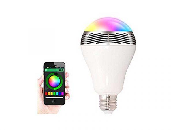 اسپیکر لامپی app | اسپیکر لامپی با قابلیت کنترل با گوشی | اسپیکر لامپ | اسپیکر لامپ دار | خرید اسپیکر لامپی |