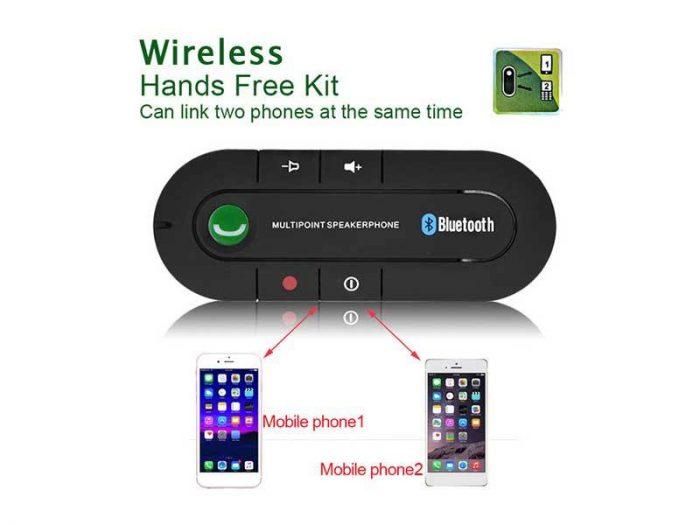 کارکیت بلوتوث خودرو ولوم دار - Carkit Bluetooth with sound