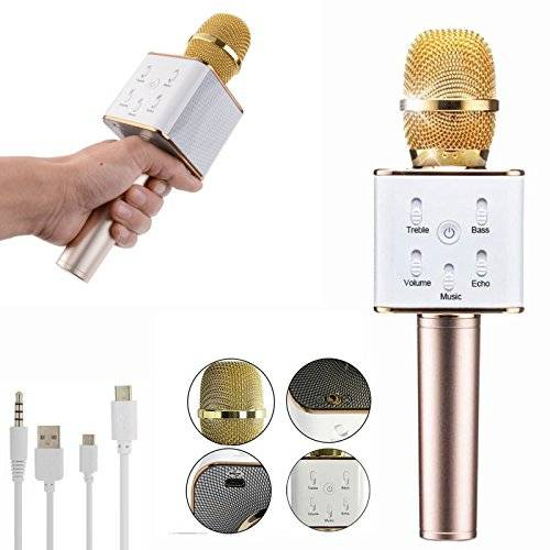 میکروفون کارائوکه Q9 | میکروفون اسپیکر Q9 | خرید میکروفون اسپیکر دار | میکروفون اسپیکری Q9 | میکروفون Q9 |