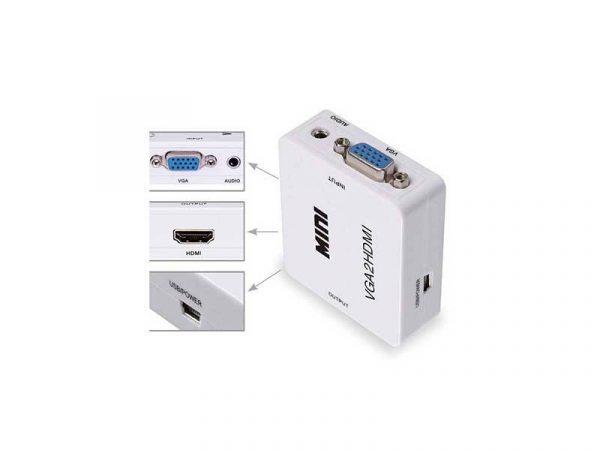 خرید تبدیل VGA به HDMI