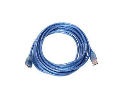 کابل افزایش طول usn شیلد دار | کابل افزایش طول شیلد دار usb | کابل افزایش طول usb آبی |کابل افزایش طول usb 10 متری |
