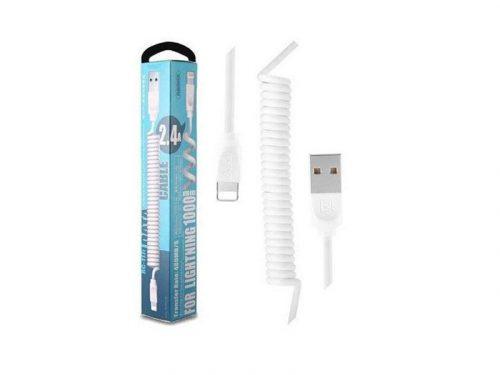کابل شارژ فنری اپل ریمکس 117 یک کابل شارژ فنری اپل است. این کابل شارژ فنری ایفون کیفیت بالایی دارد هم چنین کابل شارژ فنری remax rc117 کاملا اورجینال است