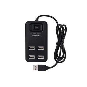هاب 4 پورت enet مدل p1601 | هاب 4 پورت کلید دار | هاب 4 پورت USB2.0 | خرید هاب 4 پورت کلید دار | هاب usb2 چهار پورت |