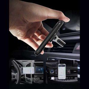 هولدر موبایل انشتی و خودرو | هولدر دوکاره موبایل | هولدر موبایل انگشتی و دریچه کولر | خرید هولدر دوکاره موبایل | هولدر همه کاره موبایل |