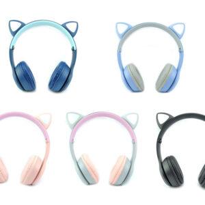 هدست طرح گربه p47m یک هدست فانتزی دخترانه است که به هدفون گوش گربه ای معروف است این هدفون گوش گربه یا هدست گوش گربه p47m کیفیت مناسبی نسبت به قیمت آن دارد
