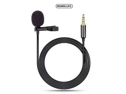 خرید، فروش و قیمت میکروفون یقه ای ریمکس lf31 یا میکرفون ریمکس lf31 یک مینی میکروفون ریمکس با کیفیت می باشد که در بازار میکروفون یقه ای remax شناخته میشود.