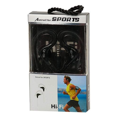 هندزفری ورزشی یا هندزفری ورزشی مدل a41 یک هندزفری مناسب برای ورزش است این هندزفری اسپرت به اسم هندزفری حلقه ای هم معروف است که یک هندزفری اسپرت ورزشی است.